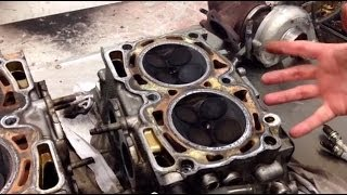 Subaru STi and WRX turbo engine. Risks of poor maintenance the hidden costs tips and traps