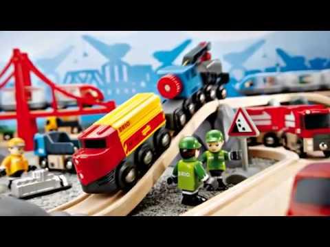Железная дорога Брио - вот это игрушка!