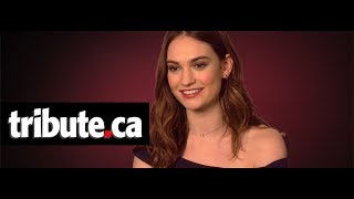 Lily James - Baby Driver Interview