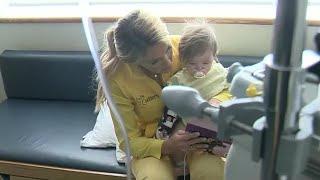 Volunteer cuddlers help families at Children's Hospital of Michigan