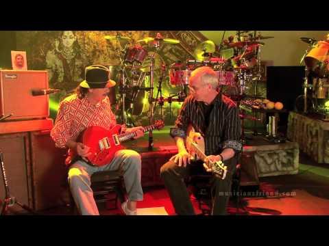 Carlos Santana and Paul Reed Smith