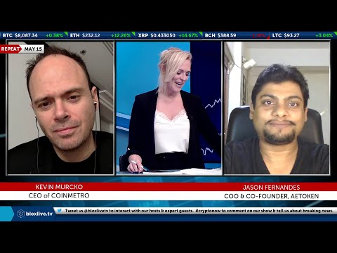 Crypto Now 5-15-Bitcoin dropping below $8,000 and recovering rapidly is a good sign  BloxLive TV