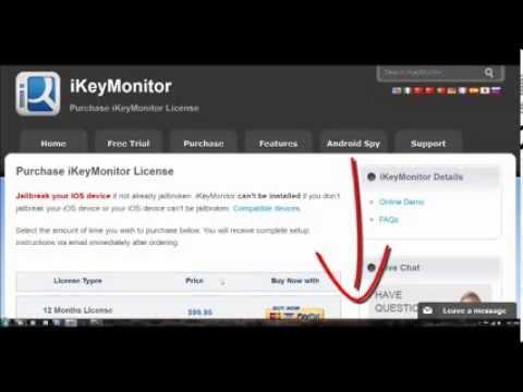 Keylogger for ipad