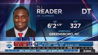 2016 NFL Draft Rd 5 Pk 166 | Houston Texans Select DT DJ Reader