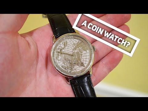 CHIYODA Platinum Coin Mens Watch Review - Affordable Corum Coin Watch?