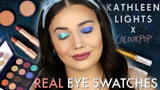 Kathleen Lights x COLOURPOP Zodiac Collection LIVE SWATCHES