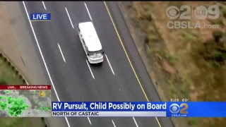 WATCH LIVE: Mobile Home Pursuit