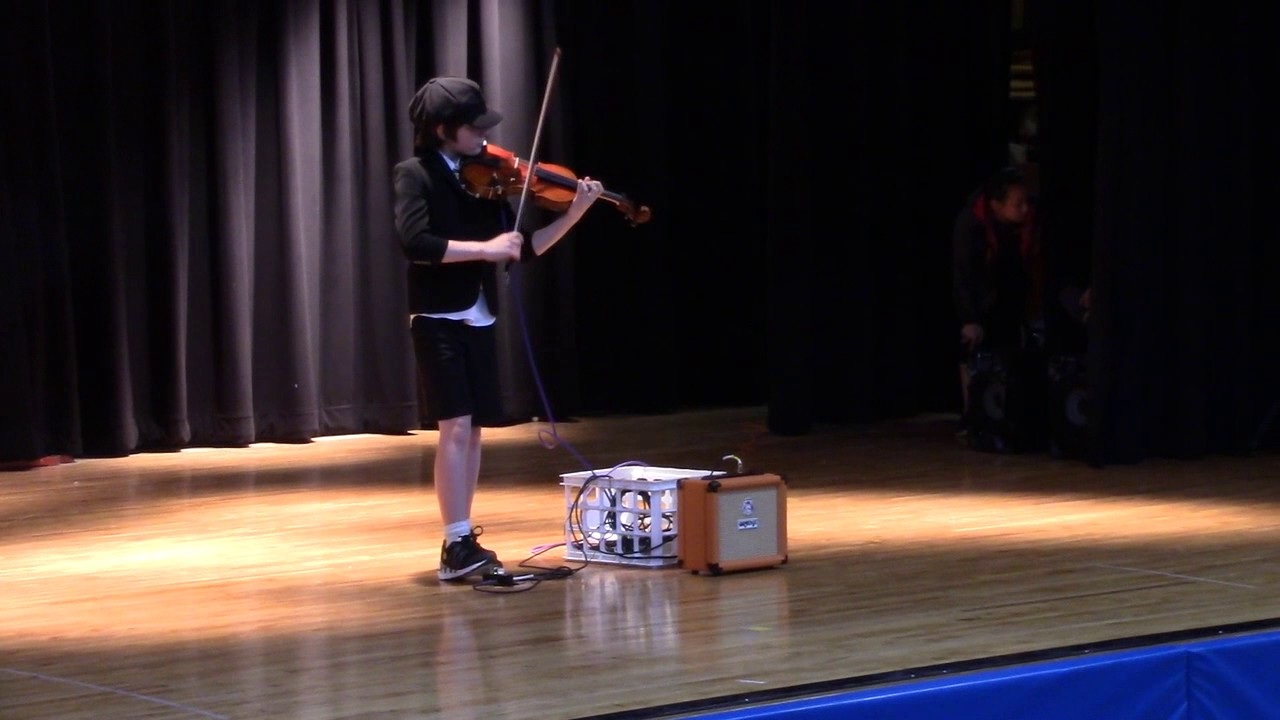 Thunderstruck -ACDC-violin