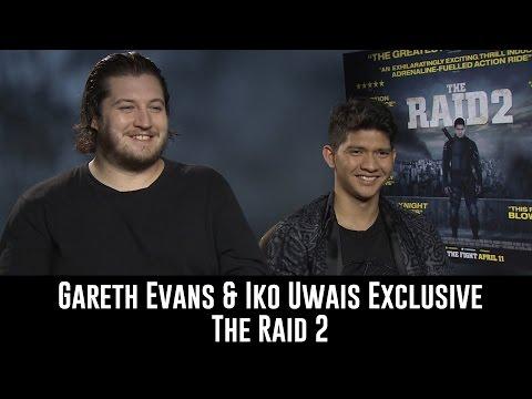 The Raid 2 Interview - Gareth Evans and Iko Uwais