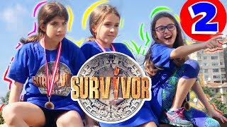 Maya Raced With Her Friends In Survivor And They All Held A Real Live Snake  Ep.2