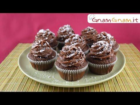 Cupcake cocco e nutella - Gnam Gnam