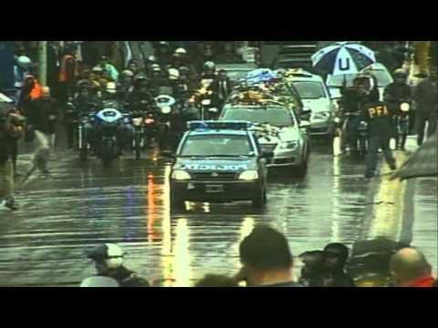 29 de Octubre. Traslado de los restos de Néstor Kirchner al aeroparque metropolitano