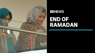 Muslims in Canberra celebrate the end of Ramadan, despite scaled down services | ABC News