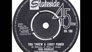 "Gene Chandler – ""You Threw A Lucky Punch"" (UK Stateside) 1963"