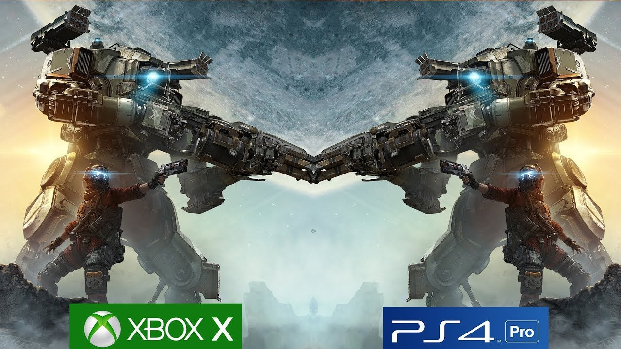 Titanfall 2 Xbox One X vs PS4 Pro Graphics Comparison ...