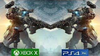 Titanfall 2 Xbox One X vs PS4 Pro Graphics Comparison - Massive Resolution Gulf!