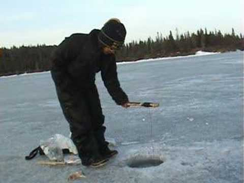 Ice fishing for alaskan pike youtube for Ice fishing videos on youtube