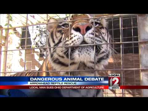 Dangerous animal debate: Local man sues Ohio Dept. of Agriculture