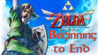 Playing The Legend of Zelda: Skyward Sword BEGINNING TO END! Let's Go! Livestream | HylianLuke