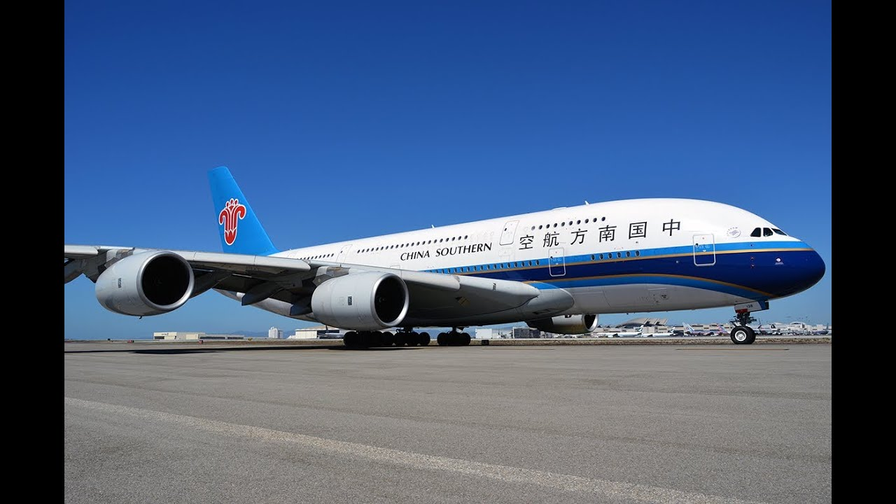 China Southern Airlines Airbus A380-841 [B-6138] Pushback ...