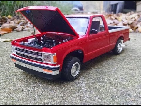 91 S10 1 20 Scale Model Youtube