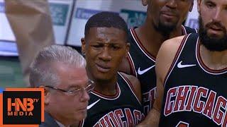 Kris Dunn & Khris Middleton Skirmish / Bucks vs Bulls