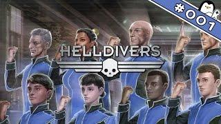 Let's Play Helldivers Deutsch #01 - Für die Föderation (Helldivers Gameplay German)