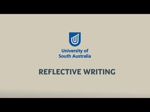 Study Help: Reflective Writing