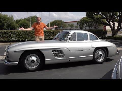 The Mercedes-Benz 300SL Gullwing Is a $1 Million Sports Car Icon