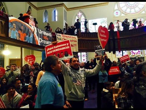 Latino activists fight Trump's agenda and...