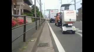 【自転車車載】越谷市下間久里付近〜杉戸町すきすきすぎーと36(2015/05/24)