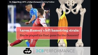 Arsenal's Aaron Ramsey's left hamstring strain - Has he played his final game for the Gunners?