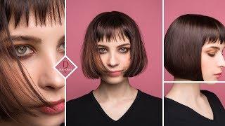 DEMETRIUS | Классическое каре | Стрижка каре | Женская стрижка на короткие волосы hair bobcut