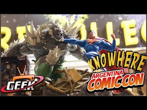 Comic con 2017 Argentina Knowhere collectibles