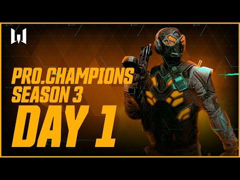Турнир Warface PRO.Champions. Day 1