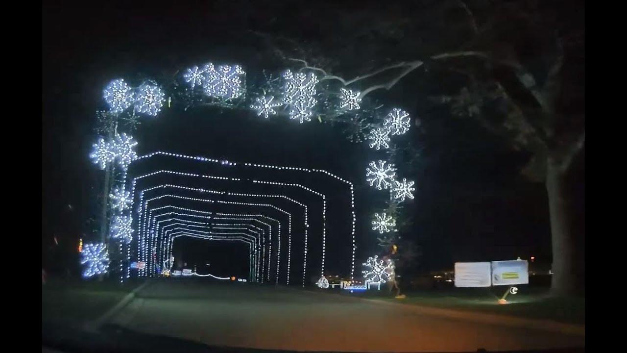 2015 Olin Park Christmas Lights - YouTube