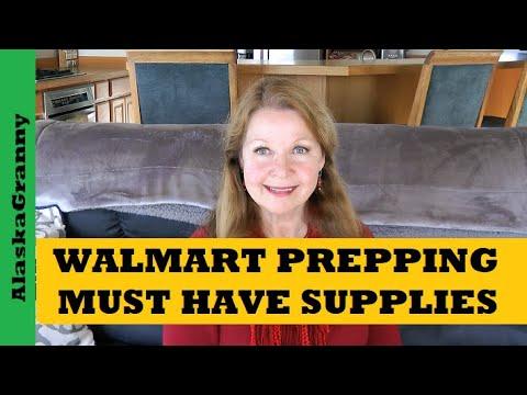 Walmart Prepping Gear - Must Have Supplies - Alaska Walmart Prices