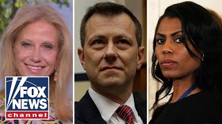 Kellyanne Conway sounds off on Strzok firing, Omarosa feud