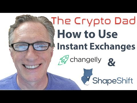 Using Instant Exchanges (Changelly & Shapeshift) to Trade Cryptocurrencies