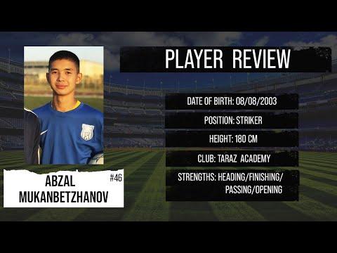 Download ● ABZAL MUKANBETZHANOV ●  ST ●  FC TARAZ ACADEMY ●  HIGHLIGHTS  ●