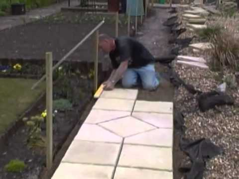 Introduction To Paving And How To Lay A Path In Your Garden