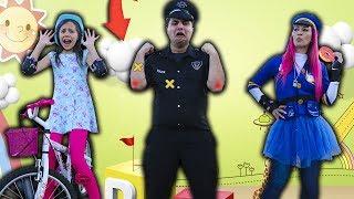 A HISTÓRIA DO DODÓI DO POLICIAL ROSQUINHA  The Boo Boo Story from Police Costume