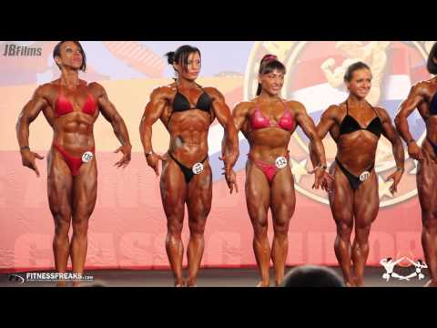 ASC Europe 2012 - Female BodyBuidling Pre-Judging Class by Burak Olgun