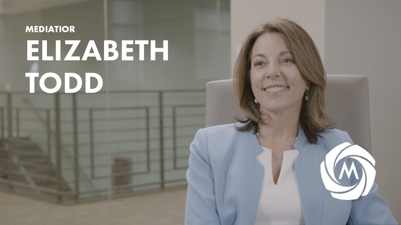 Elizabeth Todd, Mediator video