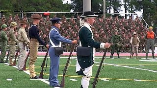 Marines Historic Uniforms - Marines Celebrate 238 Years with Joint Daytime Ceremony