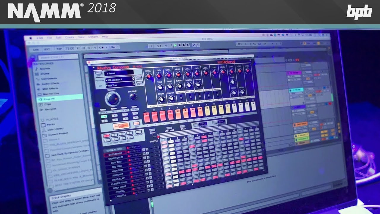 Roland presents TR-808 and TR-909 Software Instruments for