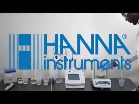 Análisis De Surfactantes Por Medio Del Titulador Automático Hanna Instruments HI932
