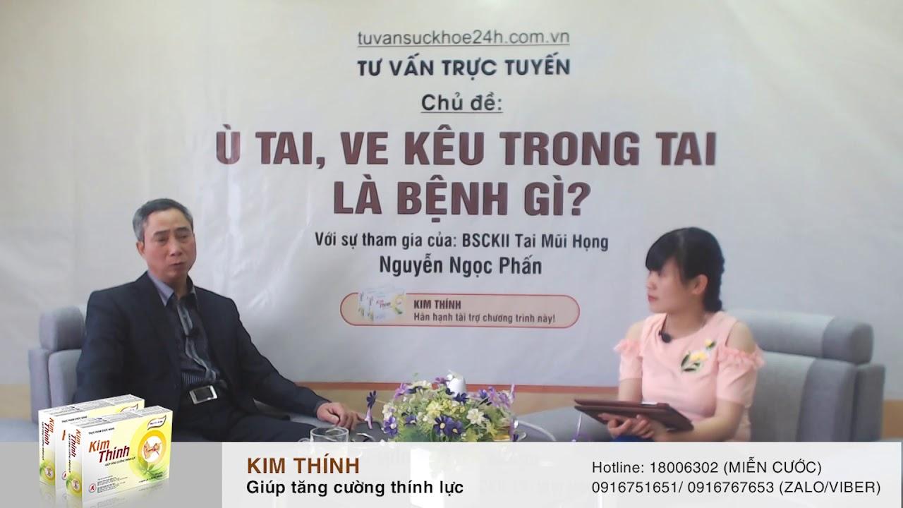 Bị ù tai kéo dài do viêm tai giữa mạn tính có dùng được Kim Thính không?