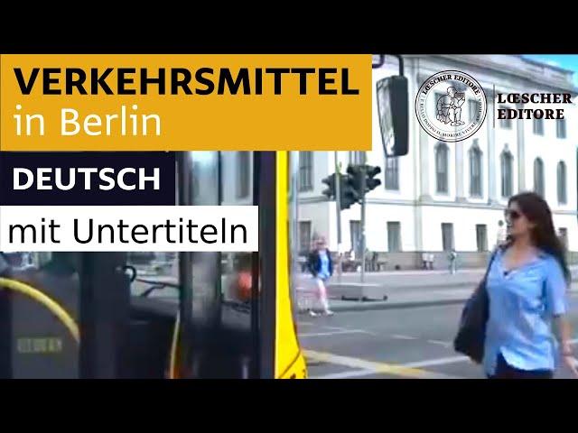 Verkehrsmittel in Berlin