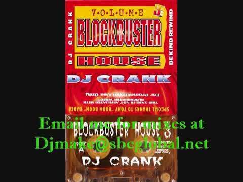 Blockbuster house vol 3 dj crank 90 39 s chicago house for 90s chicago house music